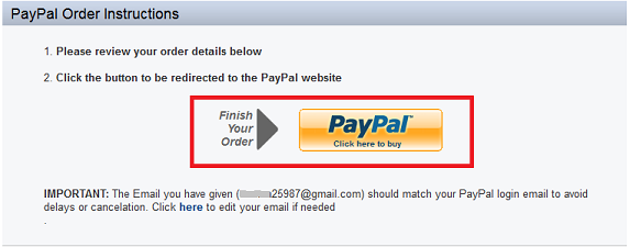 how to change in store payment method paypal